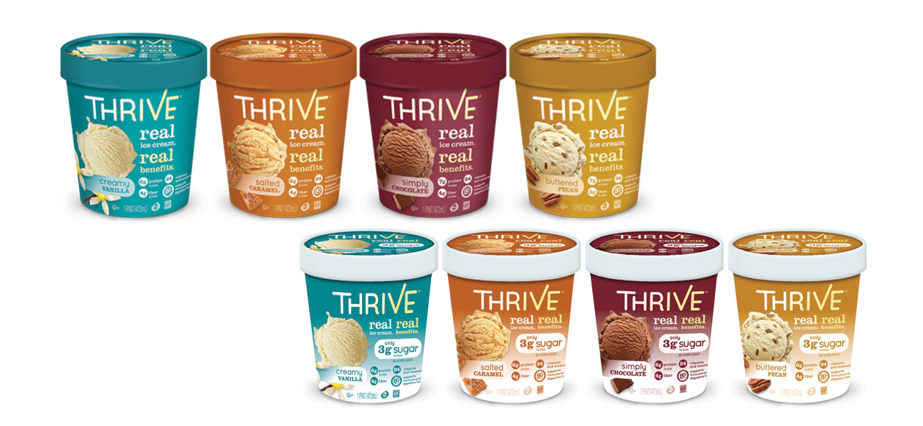 Thrive Ice Cream family